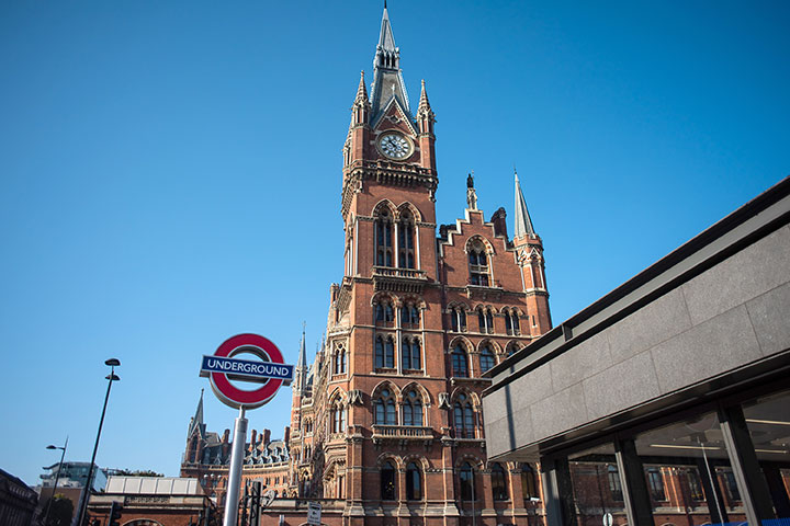 King's Cross St. Pancras rail station